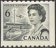 Queen Elizabeth 1970 - Canadian stamp