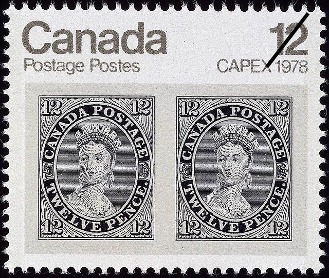 Stampsandcanada 12d Queen Victoria 12 Cents 1978 Stamps Of