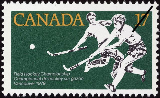 Canada 716,743,744,753 cano/ë Timbres pour Les collectionneurs Hockey compl/ète.Edition. Jeux de Ballon sans Football Enfants ann/ées 1979 Carnaval
