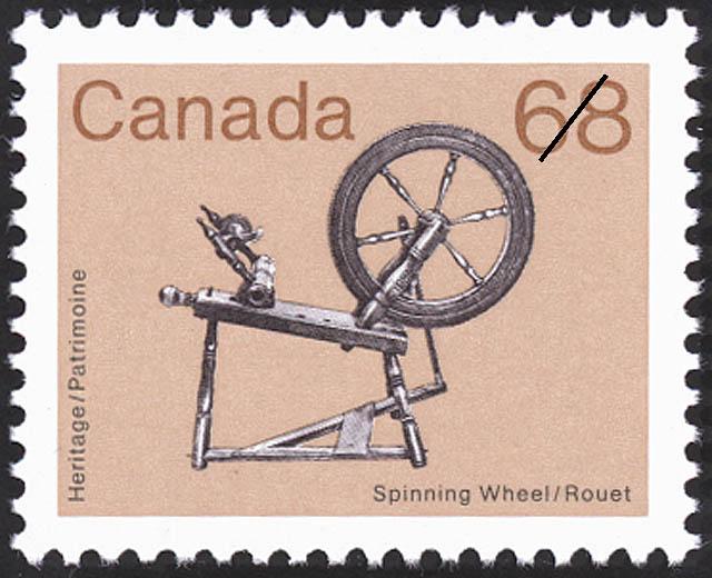 Philacanada - Rouet - 68 cents 1985 - Timbre du Canada ...