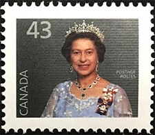 1992 - Queen Elizabeth II - Canadian stamp - Stamps of Canada